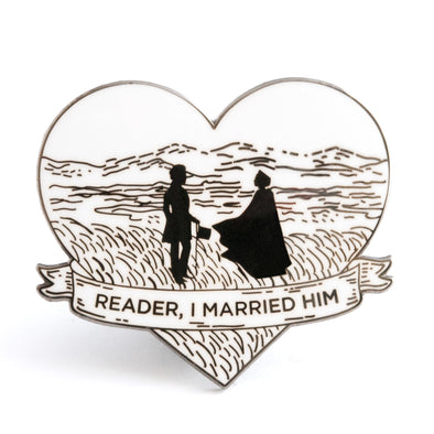 Reader, I Married Him Pin