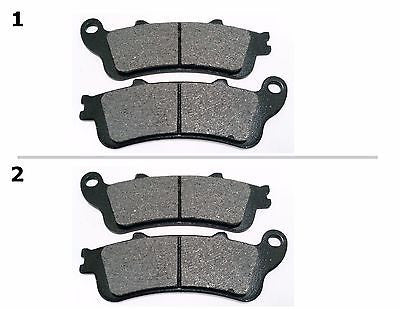 FA261 2 SETS FRONT BRAKE PAD FITS: 2002-2008 HONDA VTX 1800