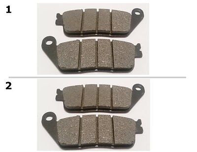 FA226 2 SETS FRONT BRAKE PADS FITS: 2004-2008 HONDA CBF 600 (ABS Model)