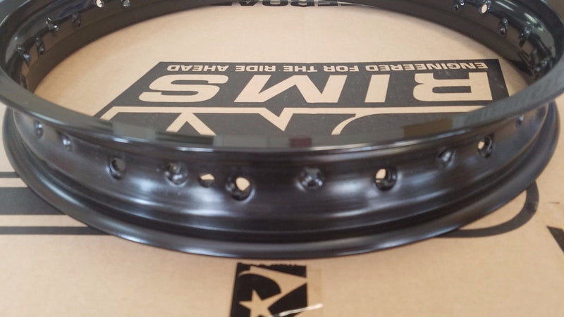 SRT REPLACEMENT FRONT RIM 21x1.60 MOTOCROSS RIM BLACK