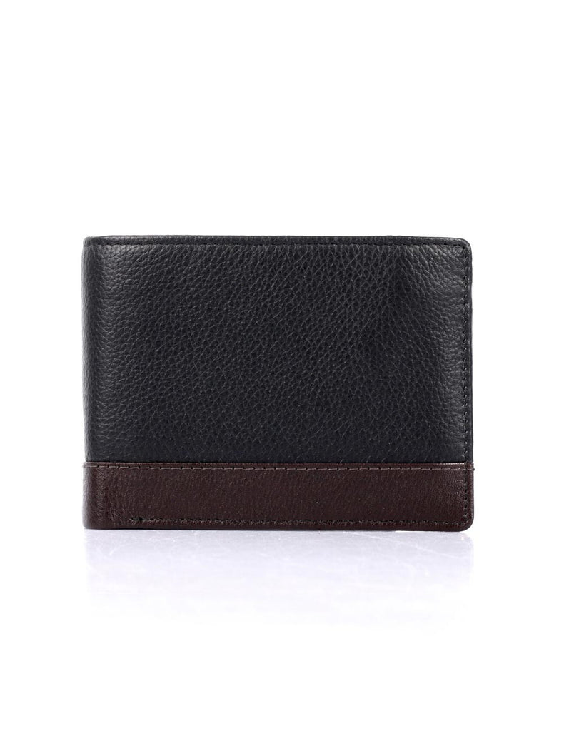 Men's RFID Leather Bifold Wallet with Card Holder Insert