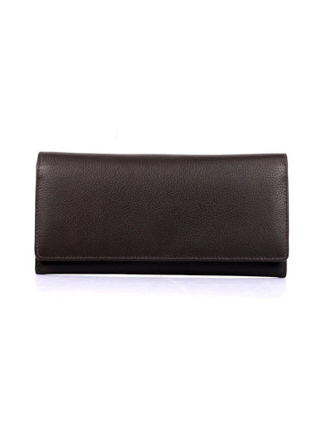 Women's RFID Leather Trifold Wallet
