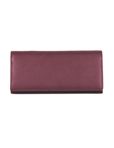 Women's RFID Leather Bifold Wallet More Colors
