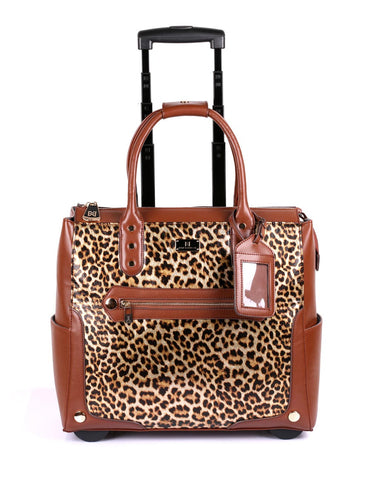 Women's RFID Professional & Travel Trolley Animal Prints
