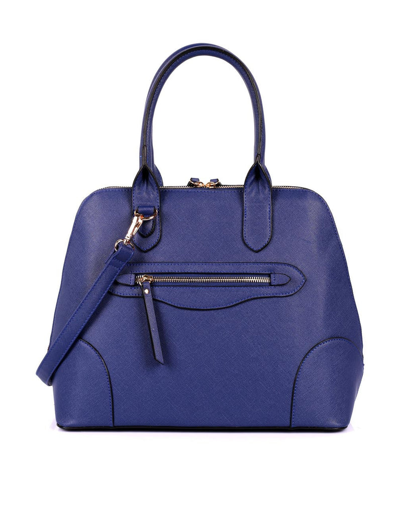 Julie Women's Dome Satchel Bag Navy