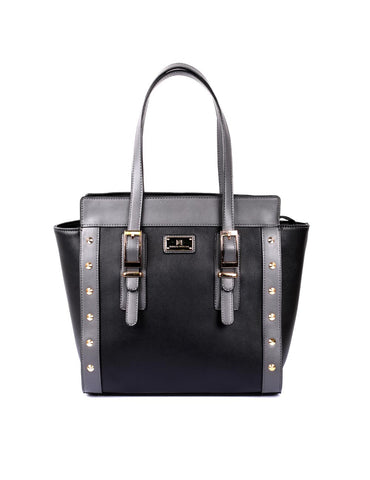 Julie Women's Tote Bag Black Grey
