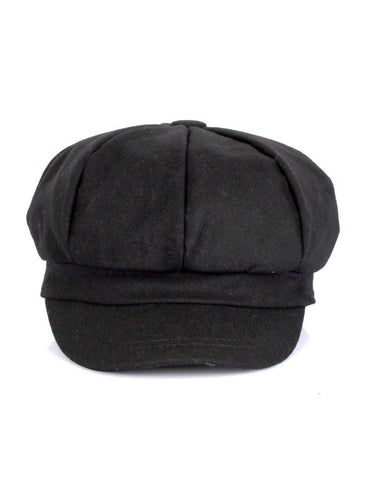 Women's Wool Cap Black One Size