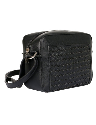 Tanya RFID Blocking Women's Crossbody Camera Bag Black