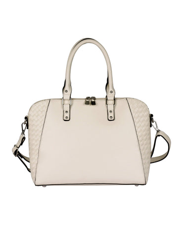 Tanya RFID Blocking Women's Satchel Beige
