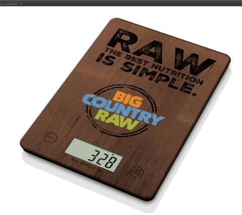 Raw Food Kitchen Scale