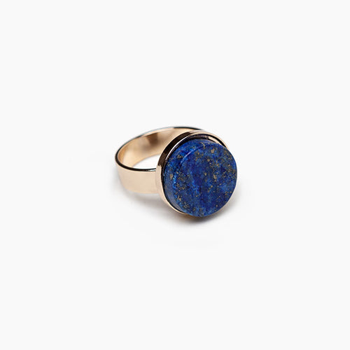 Marble Ring-Starry Night Blue