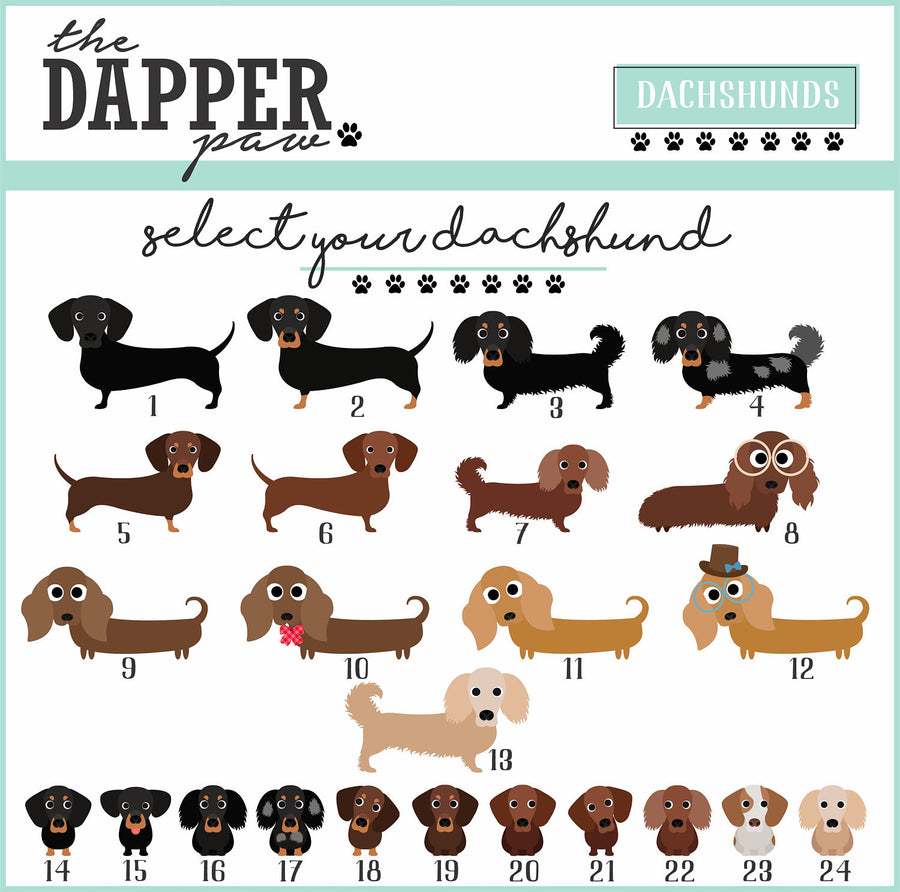 Dachshund Mug - The Dapper Paw