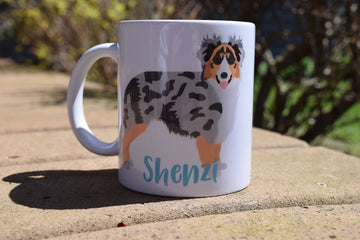 Australian Shepherd Mug - The Dapper Paw