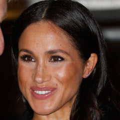 Meghan Markle in Adina Reyter large pave curve wing earrings