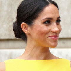 Meghan Markle in Adina Reyter 3 diamond amigos earrings