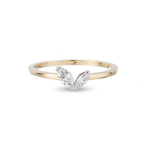 2 Marquise Ring