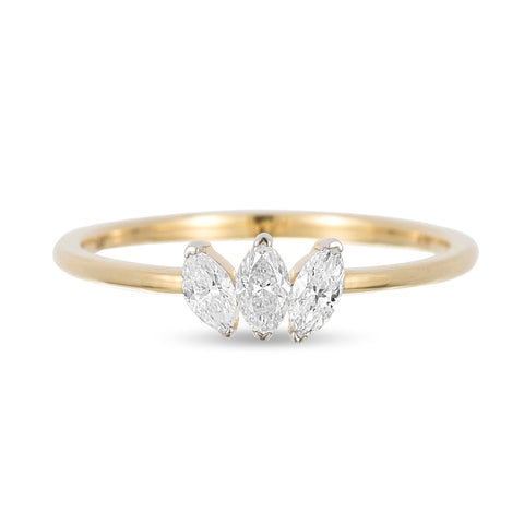 3 Marquise Ring