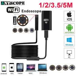WATER RESISTANT WIFI ENDOSCOPE CAMERA-Galisteo Supply Company
