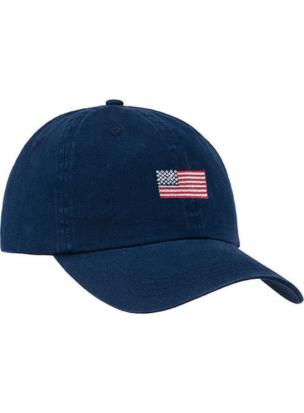 Newport U.S. Flag Relaxed Adustable Cap