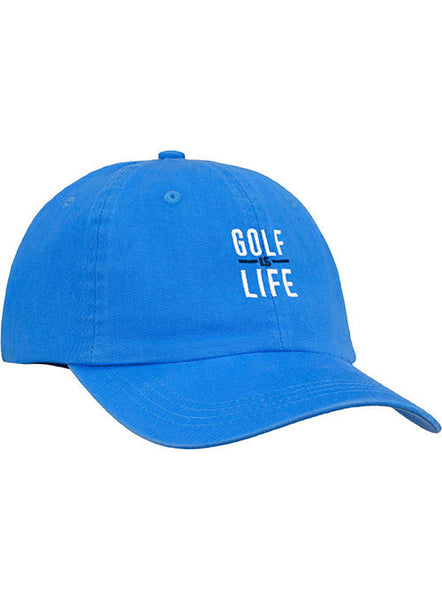 Newport Golf is Life Stacked Adjustable Cap