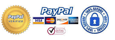 100% Secure Payment with PAYPAL