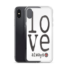 "iPhone Case ""love always"" in 5 sizes"