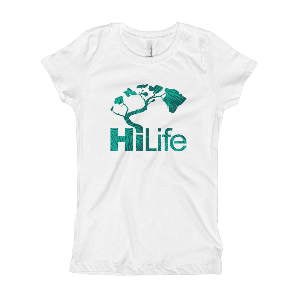 HiLife Girl's T-Shirt Basic Coco Palms