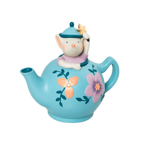 il était une fois mouse in a teapot money box