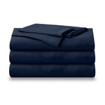 Isselle Auden Bed sheet set & duvet cover | Midnight Blue