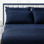 Isselle Auden Duvet Cover | Midnight Blue