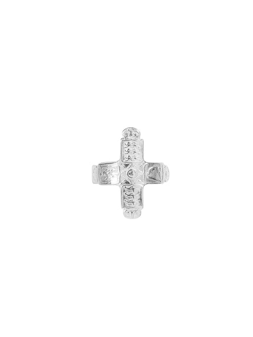 Fiorina Jewellery Coin Cross Small