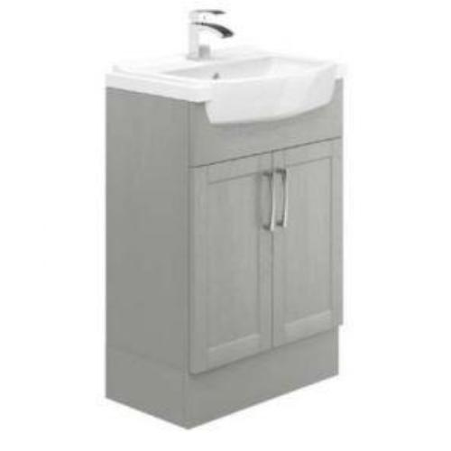 Avalon Dusk Grey 600mm Basin Unit