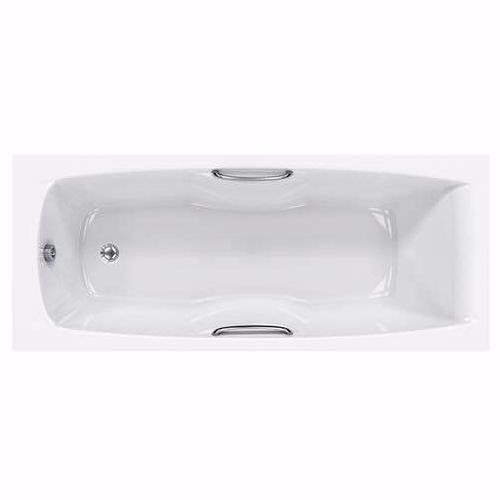 Imperial Single Ended Bath, Carronite  - 1400, 1500, 1600, 1675, 1700, 1800mm