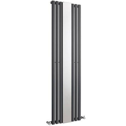 Revive Mirrored Single Panel Vertical Radiator