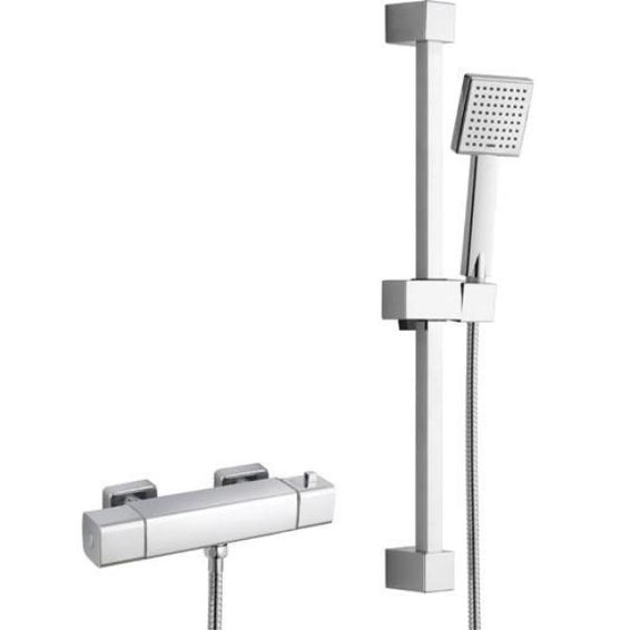 Quadro Cool Touch Thermostatic Shower Kit