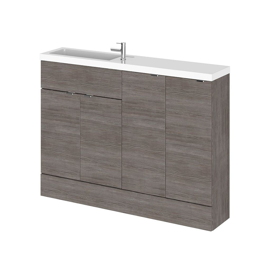 Fusion Slimline 1200mm Combination Vanity Unit & Basin