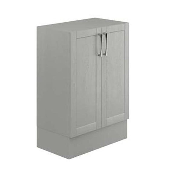 Avalon Dusk Grey 600mm Double Floor Standing Unit