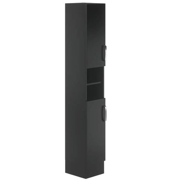 Avalon Graphite Floor Standing Tall Unit