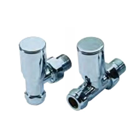Modern Straight Radiator Valve Pack