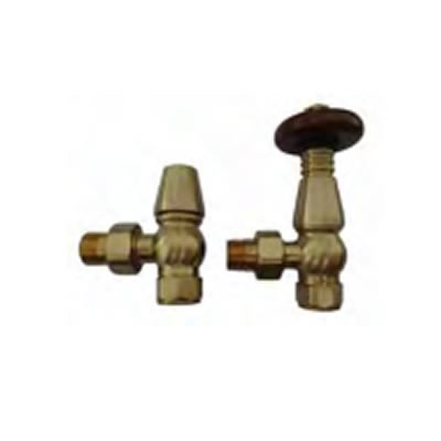 Tradiational Brass Radiator Valves Pack