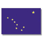 Alaskan Nylon Indoor Outdoor Flag
