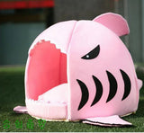 Cat Sleeping Bag - Shark Design