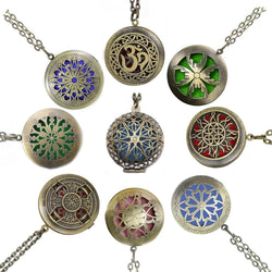 Aromatherapy Locket Necklace - Enticing Aroma...a Woman's  World!