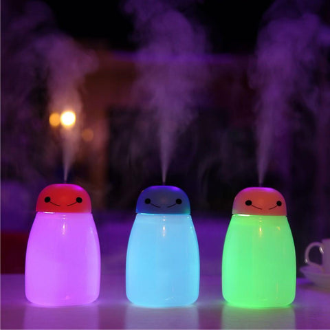 Humidifier with Night Light - Enticing Aroma...a Woman's  World!