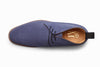 Chukka Boot - Blue Suede