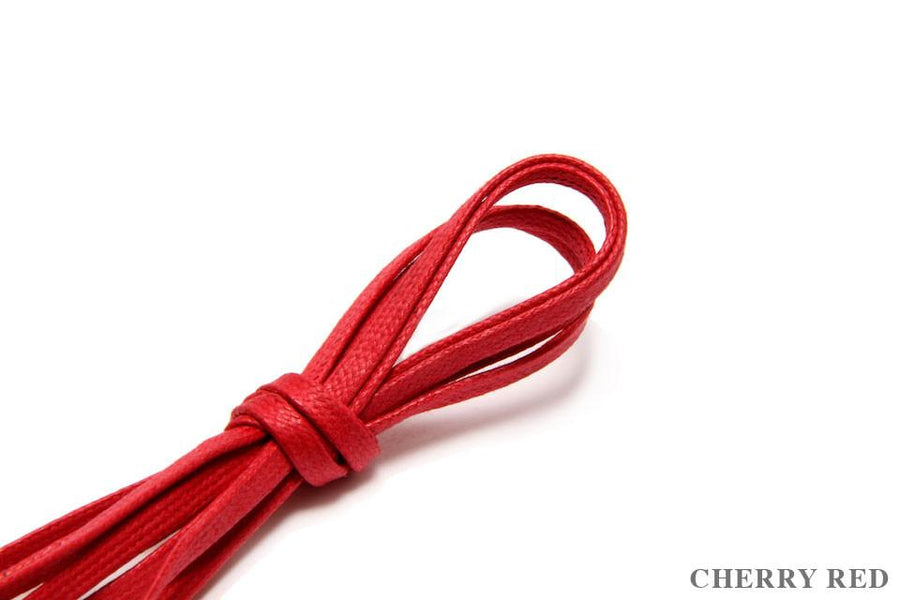 Flat Shoelaces - Cherry Red
