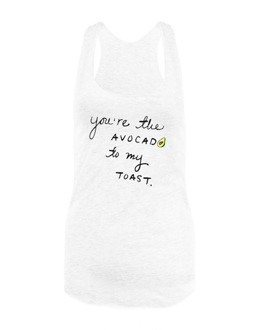 Avocado to my Toast Tank Top