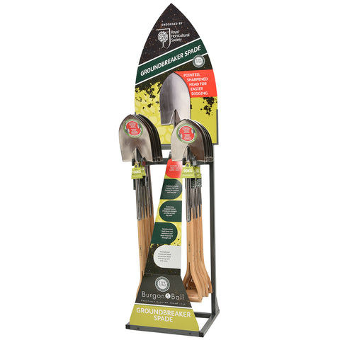 Groundbreaker Spade Display Stand