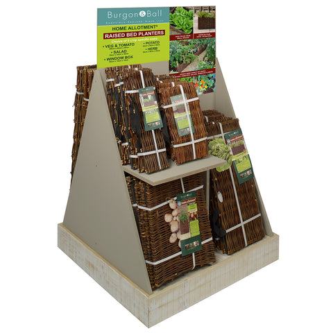 Home Allotment Compact Display Stand