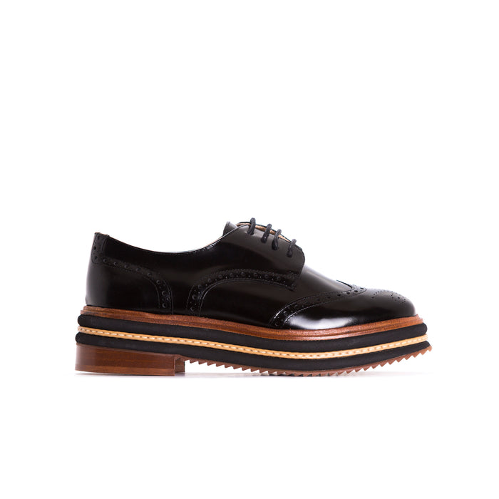 Magnolia Black Patent Shoes